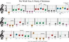 easy violin sheet music for we wish you a merry christmas