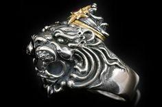 Richard The Lionheart Silver Ring MR-031