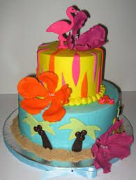tropical birthday cake - Google Search