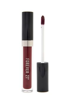 A liquid lipgloss featuring a tube with a doe-foot applicator and a highly pigmented formula.