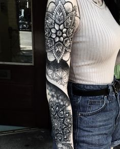 Ornamental Tattoo by Artbyadem
