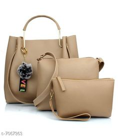 Handbags Stylish Women's Handbag Material: PU No. of Compartments: 1 Pattern: Solid Multipack: 1 Sizes:Free Size (Length Size: 28 in Width Size: 12 in Height Size: 28 in) Country of Origin: India Sizes Available: Free Size *Proof of Safe Delivery! Click to know on Safety Standards of Delivery Partners- https://ltl.sh/y_nZrAV3  Catalog Rating: ★3.9 (11897)  Catalog Name: Free Mask Stylish Women's Handbag CatalogID_1127696 C73-SC1073 Code: 785-7067363-