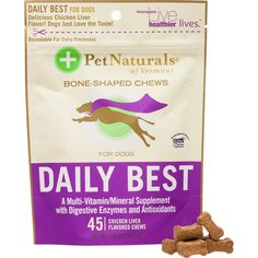 Pet Naturals Daily Best for Dogs -- Trust me, this is great! Click the image.