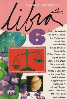 Libra! - Pinned by The Mystic's Emporium on Etsy