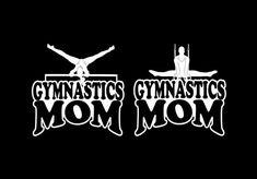 Gymnastics Mom Girl Or Boy Vinyl Car Decal Sticker on Etsy, $4.00