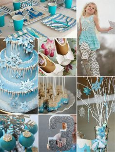 Jules' Got Style - Boutique Girls Clothing Blog: Frozen Birthday Party Ideas