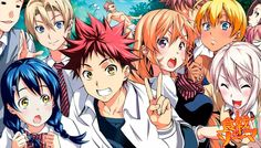 Shokugeki No Soma Ch.93 Color Page Redraw By GBR96