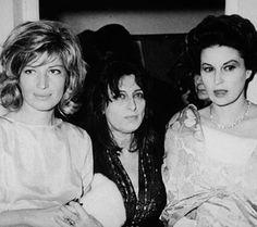 Monica Vitti, Anna Magnani e Silvana Mangano
