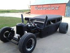 Low Rider Rat Rod