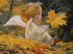 Victor Nizovtsev Angel of Autumn