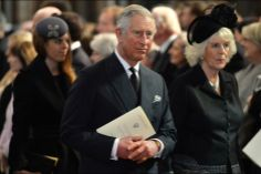 Royal Blog. Les Windsor réunis pour un dernier hommage un ami - Paris Match