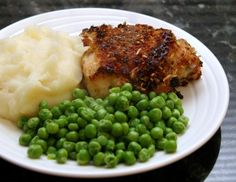 Tasty Oven Fried Chicken Thighs with Panko and Parmesan