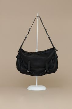 Yohji Yamamoto Messenger Bag (Black)