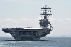 https://flic.kr/p/HKKa8Q | 150604-N-XN177-0261 | YOKOSUKA, Japan (June 4, 2016) The U.S. Navy's only forward-deployed aircraft carrier USS Ronald Reagan (CVN 76) departs Fleet Activities Yokosuka for its 2016 patrol. Ronald Reagan and its embarked air wing Carrier Air Wing (CVW) 5 provide a combat-ready force that protects and defends the collective maritime interests of the U.S. and its allies and partners in the Indo-Asia-Pacific region. (U.S. Navy photo by Mass Communication Specialist…