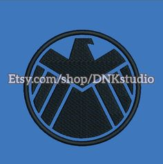 Agents of S.H.I.E.L.D. embroidery design - 5 Sizes - INSTANT DOWNLOAD  https://www.etsy.com/listing/474254285/agents-of-shield-embroidery-design-5 #embroiderypattern #embroiderydesign #machineembroidery #embroidery #avenger #superhero #shieldembroidery #pattern