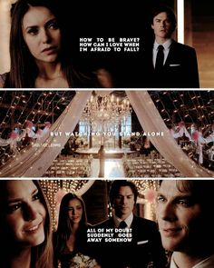 """3,696 Likes, 75 Comments - — The Vampire Diaries (@dailydelenas) on Instagram: """"— Did you think Delena was gonna be endgame? Follow @dailydelenas [me] for more  Song Lyrics: A…"""""""