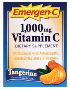 Emergen-C:  FREE Vitamin Supplement Drink Mix Sample!