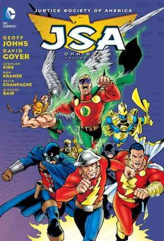 Known for his groundbreaking work on Green Lantern, over a decade ago Geoff Johns brought Justice Society of America characters rooted in the Golden Age of comics back to the forefront of comics. Mixi