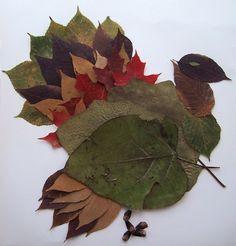 Dinde en feuilles