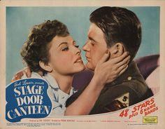 Lobby Card from the film Stage Door Canteen