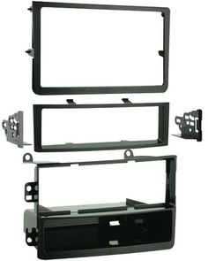 "Metra - 2006 - 2008 Nissan 350Z Single or Double DIN Installation Kit. Metra - 2006 - 2008 Nissan 350Z Single or Double DIN Installation Kit Recessed DIN opening  DIN/DDIN  Snap-in ISO support system  Includes double-DIN radio trim  Contoured to match factory dash  Includes oversized under radio storage pocket High-grade ABS plastic Includes all necessary hardware """" Sold Individually Third party warranty available: One Year Please note: If there is a color/size/type option, the option…"