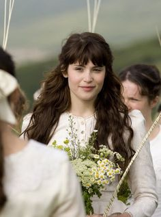 Hair inspiration...I must keep growing mine out. (Tess of the D'Urbervilles 2008)