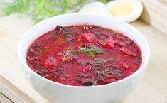 Soup Recipes, Cake Recipes, Cooking Recipes, Polish Soup, Beet Soup, Polish Recipes, Soups And Stews, Brunch, Veggies