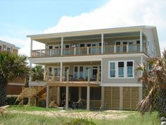 Edisto Realty - Linger Longer - Coming Soon! - Brand New Beach Front Handicap FriendlyVacation Home - Edisto Island, SC
