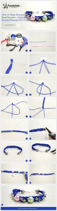 How to Make Braided Bead Bracelet - Delicate Braided Bracelet DIY Project