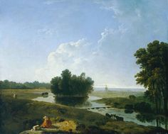 Richard Wilson: 'On Hounslow Heath' exhibited 1770. Pre-urban Hounslow.