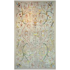 """Portuguese Embroidered Coverlet 