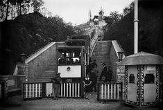 BARCELOFÍLIA: FUNICULAR AL PALAU NACIONAL DE MONTJUÏC. Exposició Universal de 1929.