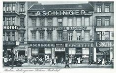1933 Aschinger am Stettiner Bahnhof
