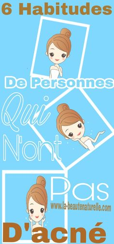 6 habitudes de personnes qui n'ont pas d'acné #acné Health And Beauty, Health Fitness, Family Guy, Snoopy, Fictional Characters, Get Rid Of Acne, Beauty Hacks, Face, Health And Fitness