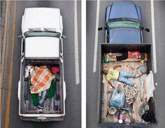 Awesome Sleeping Carpoolers photo series from Alejandro Cartagena.