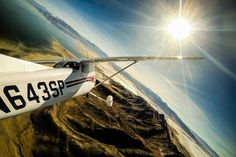Pilot Willie Miller vol Salt Lake Uollisha SitiToma et sa camera GoPro