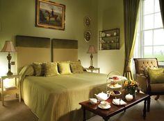 Green, a Superior bedroom