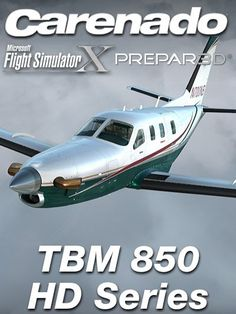 CARENADO : TBM 850 HD Series Special FeaturesVersion 2.0 Full FSX, P3D v2, v3, v4, and Steam compatible. Carenado G1000 (PFD and MFD) with GCU 475 Control Unit. AFCS GMC 710 autopilot NEW 3D knobs technology Flight Plan creation option directly from the MFD. Windows lighting scratches effect Volumetric side view prop effect Dynamic propeller shines effect. Cold and Dark start option   Features: Carenado G1000 (Primary and multi-function displays) with GCU 475 Control Unit. -Normal and…