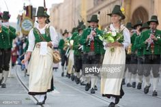 Munich, Germany - September 22, 2013: The traditional costume... #roppen: Munich, Germany - September 22, 2013: The traditional… #roppen