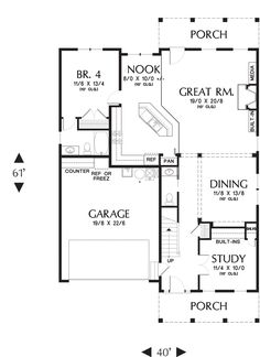 I like this one! Bedroom 4 could be laundry room/mudroom/pantry. REVIEWED: i really like this!!