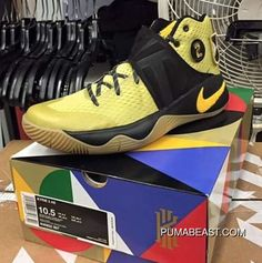 meet c4fbb f7d72 Nike Kyrie 2  All-Star  Celery Varsity Maize-Black