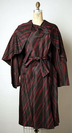 Coat by Pauline Trigère 1960.