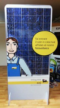 """Totem Pubblicitario """"Eni 3D"""". Agenzia GPT."""