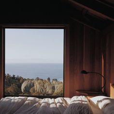 waking up at @postranchinn #bigsur #visitcalifornia