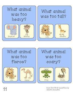 Dear Zoo Language and Phonological Awareness Book Companion Dear Zoo Activities, Language Activities, Therapy Activities, Book Activities, Preschool Activities, Dear Zoo Eyfs, Dear Zoo Book, Preschool Zoo Theme, Phonological Awareness