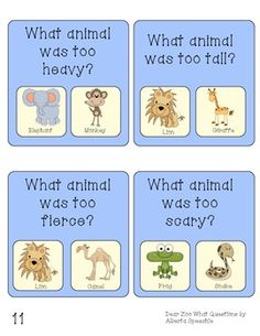 DEAR ZOO LANGUAGE AND PHONOLOGICAL AWARENESS PACK - TeachersPayTeachers.com