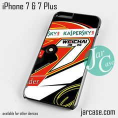 Kimi F1 Helmet Phone case for iPhone 7 and 7 Plus