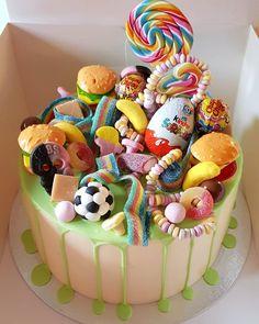 Candyland, Birthday Cake, Girls, Desserts, Instagram, Cakes, Pretty Images, Bonito, Food