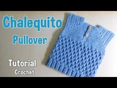 Como tejer un pullover para niño (1/2) - YouTube Crochet Baby Clothes Boy, Crochet Baby Jacket, Crochet For Boys, Knitting For Kids, Crochet Cardigan, Knitting Projects, Baby Knitting, Knit Crochet, Crochet Hats