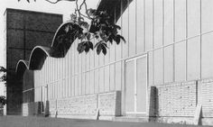 Research Institute of Hydraulic Engineering (1956-57) at TU Darmstadt, Germany, by Ernst Neufert